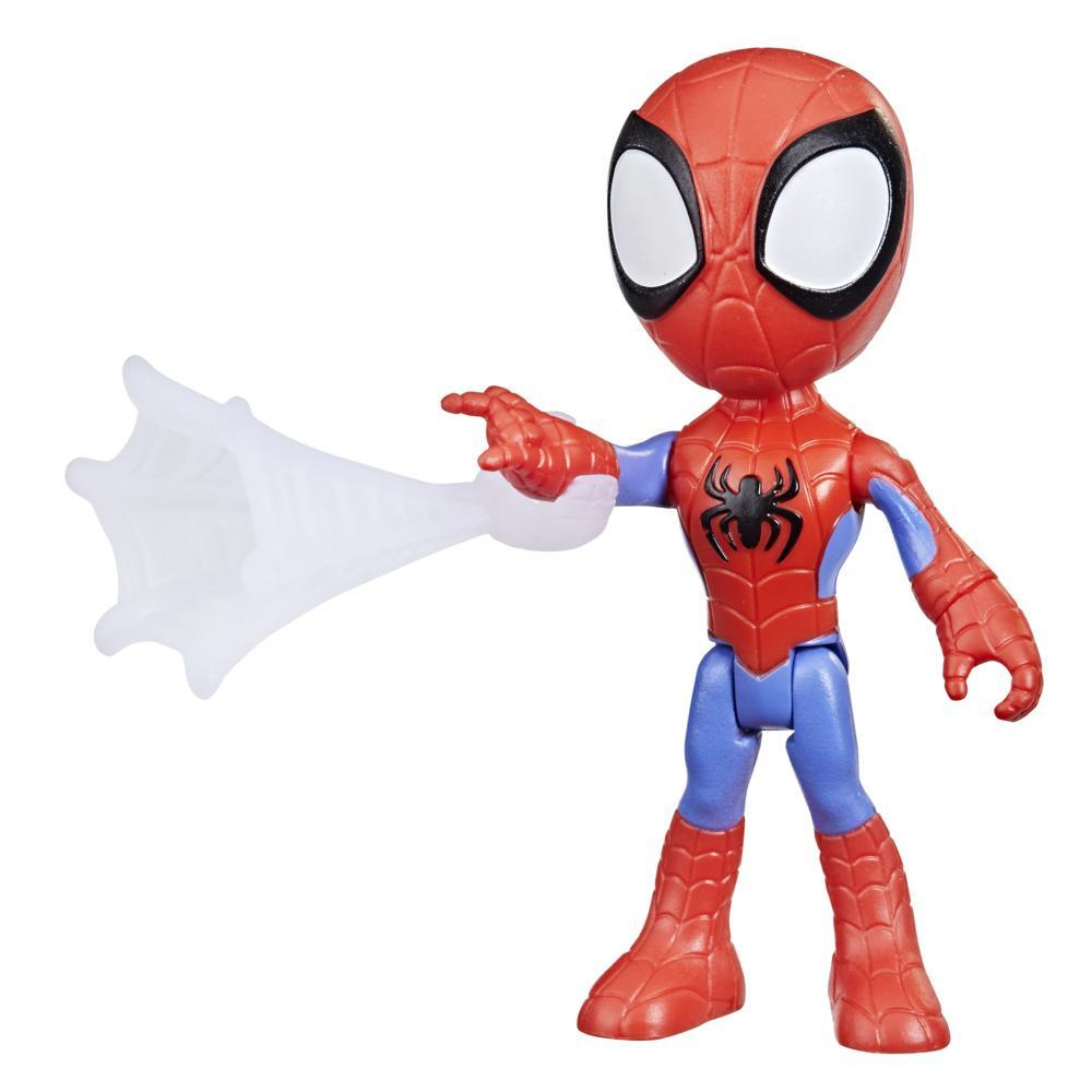 Marvel Spidey and His Amazing Friends Spidey Hero Figure, 4-Inch Scale Action Figure And 1 Accessory, For Kids Ages 3 And Up