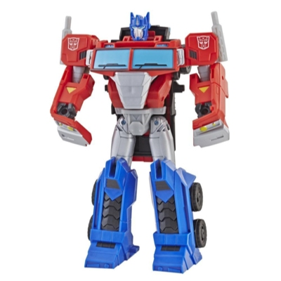 Transformers Cyberverse Action Attackers: Ultra Class Optimus Prime Action Figure Toy Product