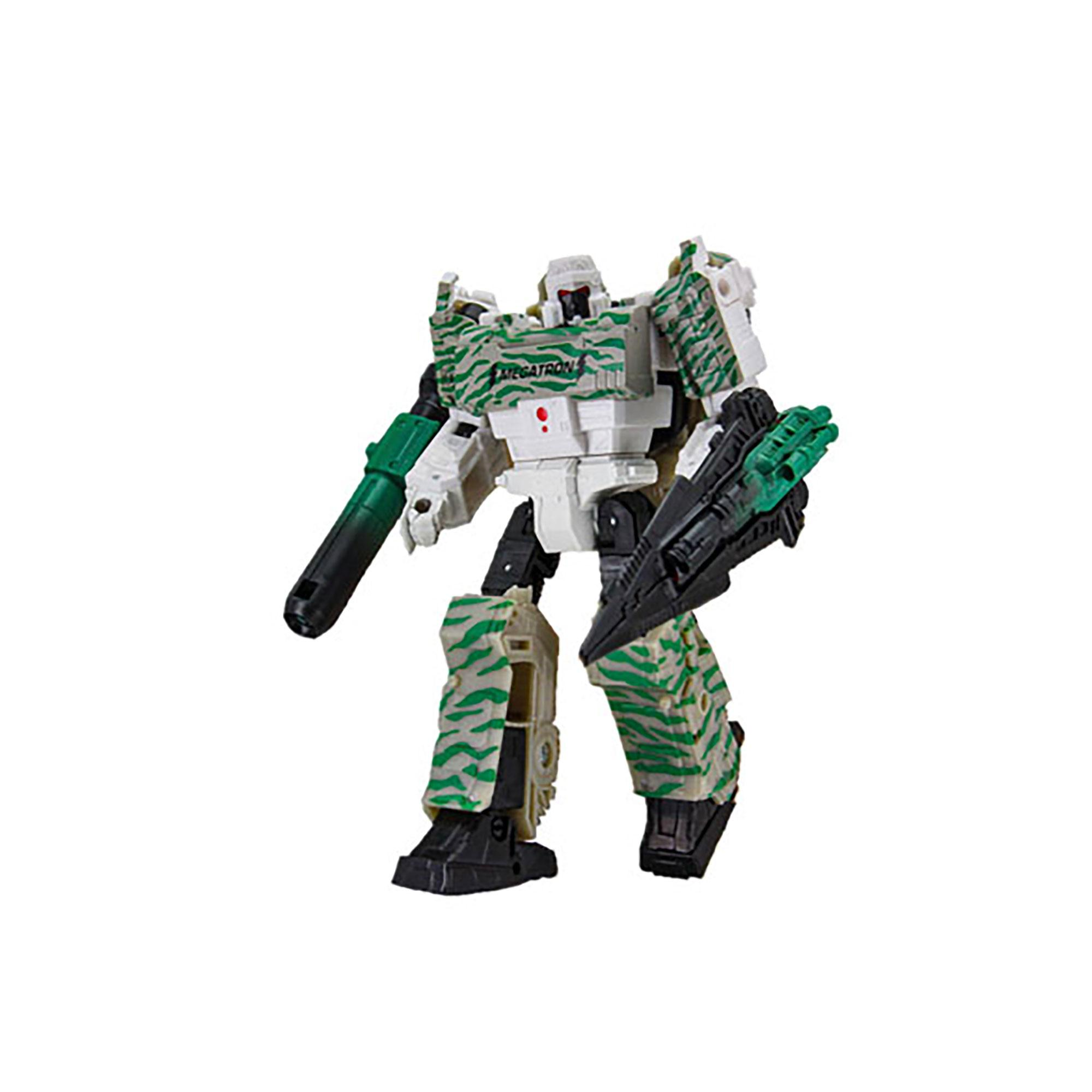 Transformers Generations Selects WFC-GS01 Combat Megatron, War for Cybertron Voyager Figure - Special Edition Camouflage Deco - Collector Figure, 7-inch