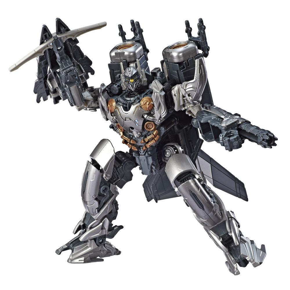 Transformers Toys Studio Series 43 Voyager Class Transformers: Age of Extinction movie KSI Boss Action Figure