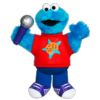 PLAYSKOOL SESAME STREET LET'S ROCK! Singin' Cookie Monster