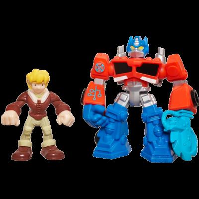 Playskool Heroes Transformers Rescue Bots Energize Optimus Prime & Cody Burns 2-Pack