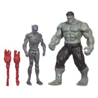 Marvel Avengers Age of Ultron Rampaging Hulk and Sub Ultron 012
