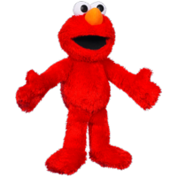 PLAYSKOOL SESAME STREET Let's Cuddle Elmo Plush Figure