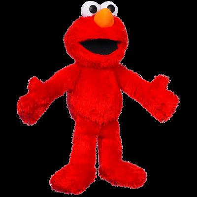 PLAYSKOOL SESAME STREET Let's Cuddle Elmo Plush Figure