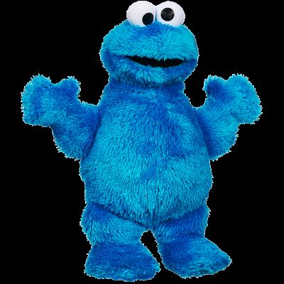 PLAYSKOOL SESAME STREET Let's Cuddle Cookie Monster Plush Figure