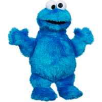 Sesame Street Let's Cuddle Cookie Monster Plush Doll: Soft, Snuggly 10-inch Cookie Monster Toy, Great for Snuggles, Great Toy for Kids One Year Old and Up