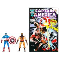 MARVEL Universe MARVEL'S Greatest Battles Comic Packs WOLVERINE and CAPTAIN AMERICA