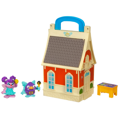PLAYSKOOL SESAME STREET Abby Cadabby Flying Fairy School Playset