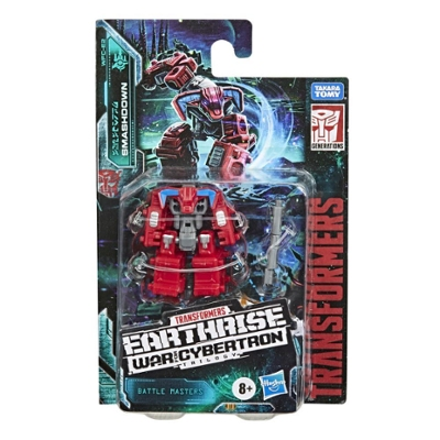 Transformers Toys Generations War for Cybertron: Earthrise Battle Masters WFC-E2 Smashdown, 1.5-inch