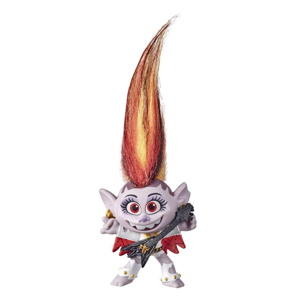 DreamWorks Trolls World Tour Grand Finale Barb Doll with Guitar Accessory, Collectible Toy Figure, Kids 4 and Up