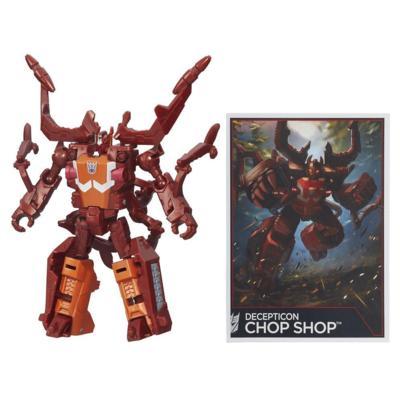 Transformers Generations Combiner Wars Legends Class Chop Shop Figure