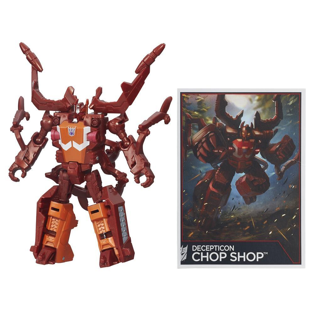 Transformers Generations Combiner Wars Legends Class Chop Shop Figure