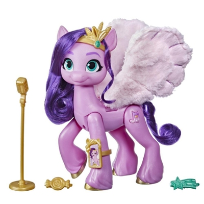 My Little Pony: A New Generation Movie Musical Star Princess Petals - 6-Inch Pony Toy that Plays Music for Kids 5 and Up