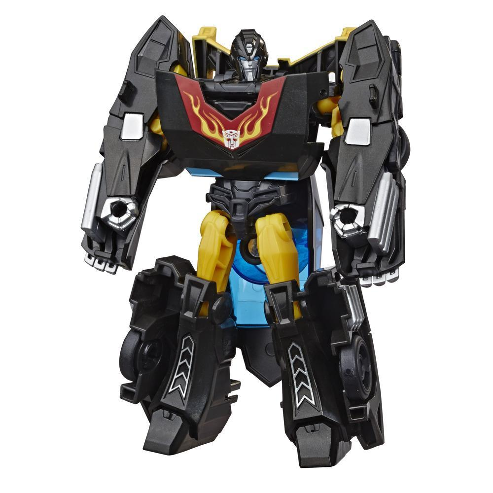 Transformers Bumblebee Cyberverse Adventures Warrior Class Stealth Force Hot Rod Action Figure, 5.4-inch