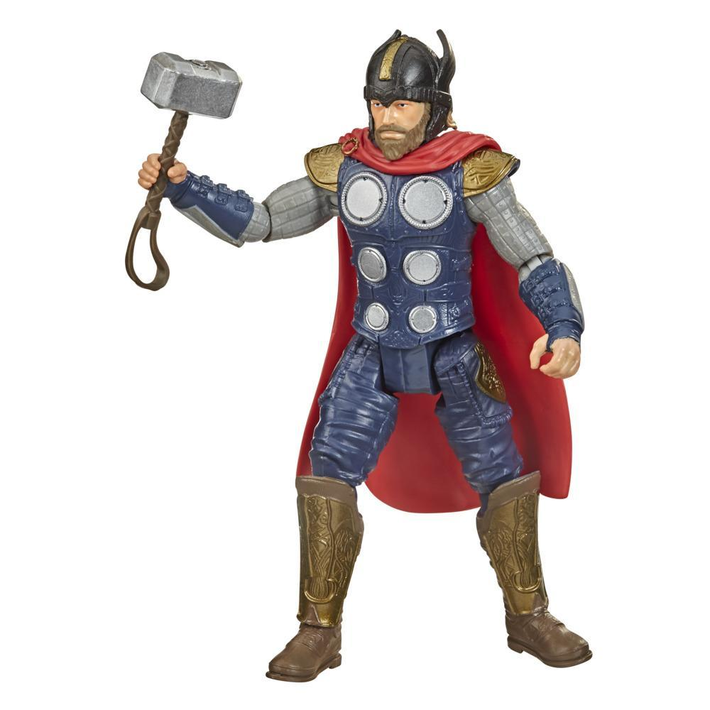 Hasbro Marvel Gamerverse 6-inch Action Figure Toy Thor War Cry Video Game-Inspired, Ages 4 And Up