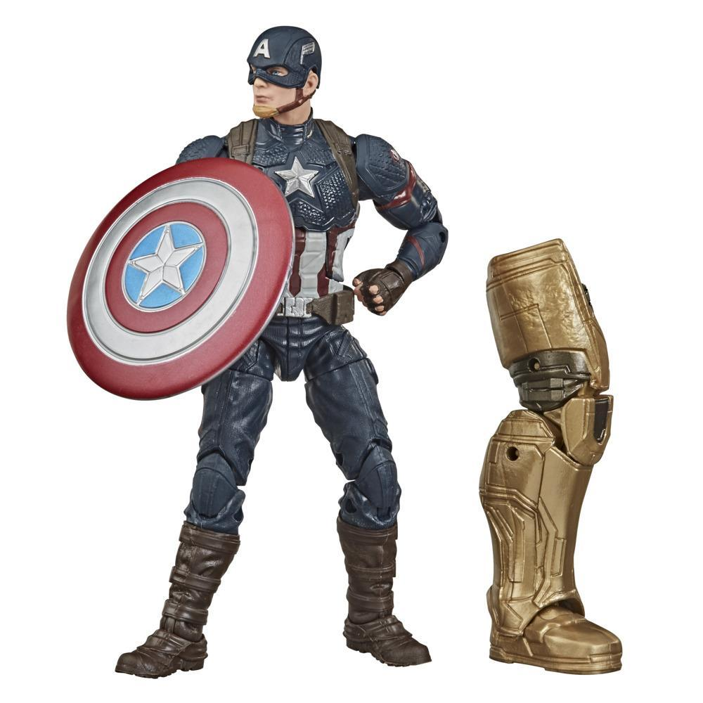 Hasbro Marvel Legends Series Avengers 6-inch Collectible Action Figure Toy Captain America