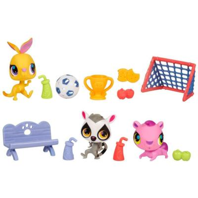 LITTLEST PET SHOP SOCCER ALL-STARS Set