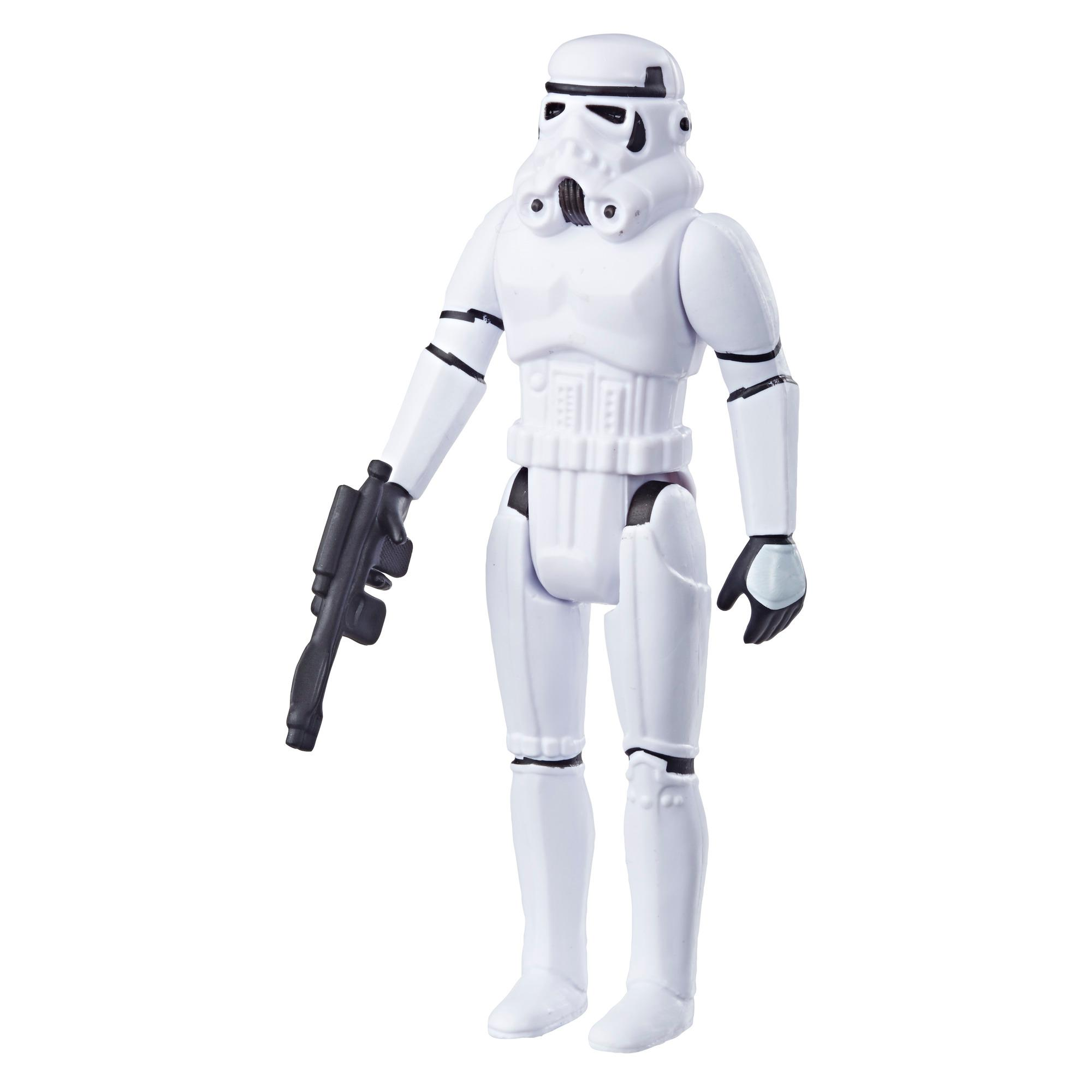Star Wars Retro Collection Episode IV: A New Hope Stormtrooper 3.75-Inch-Scale Action Figure Toy – Inspired by Classic 1970s-Sculpt and Packaging Collectible Star Wars Figure
