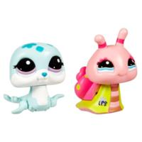 Littlest Pet Shop Walkables Seal and Snail Pets