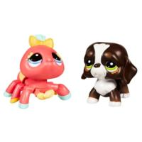 LITTLEST PET SHOP WALKABLES Pets (Spider and Dog)