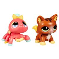 LITTLEST PET SHOP WALKABLES Pets (Cat and Spider)