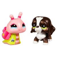 LITTLEST PET SHOP WALKABLES Pets (Dog and Snail)