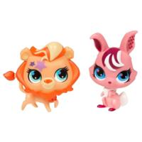 LITTLEST PET SHOP TOTALLY TALENTED Lion and Bunny