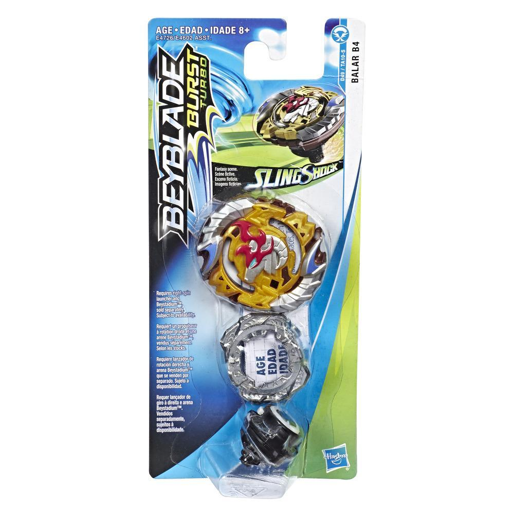 Beyblade Burst Turbo Slingshock Balar B4 Single Battling Top