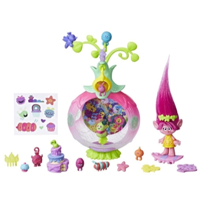 DreamWorks Trolls Sparkle Surprise Party Pod