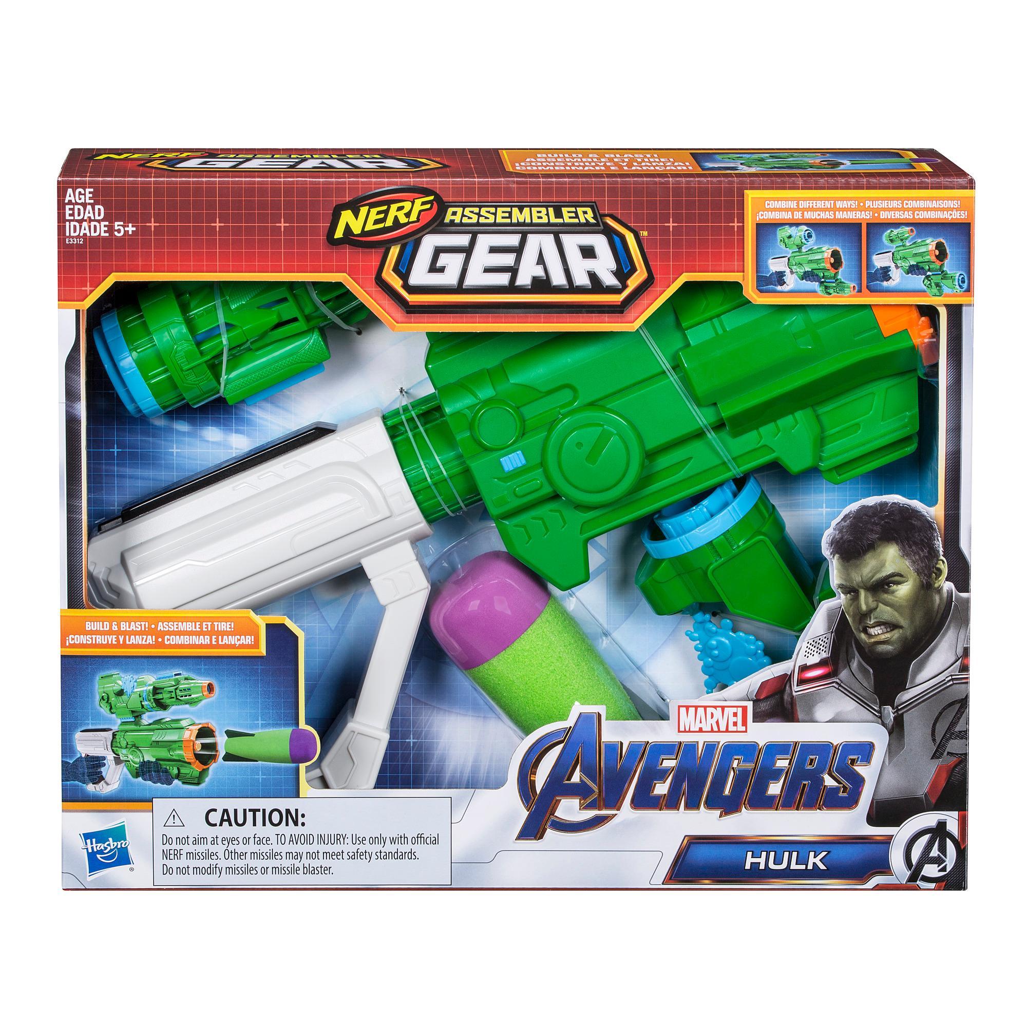 Marvel Avengers: Endgame Nerf Hulk Assembler Gear