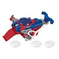 Spider-Man Web Shots Disc Slinger Blaster Toy for Kids Ages 5 and Up