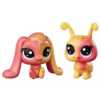 Littlest Pet Shop Apricotta Ambergleam & Sunset Glimmerbug