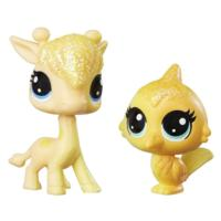 Littlest Pet Shop Lofty Sunglow & Saffron Flutterdust