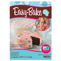 EASY-BAKE Devil's Food & Yellow Cake Mixes