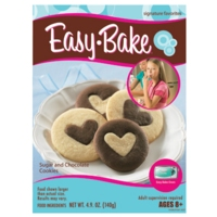EASY BAKE Sugar Cookie and Chocolate Cookie Mixes