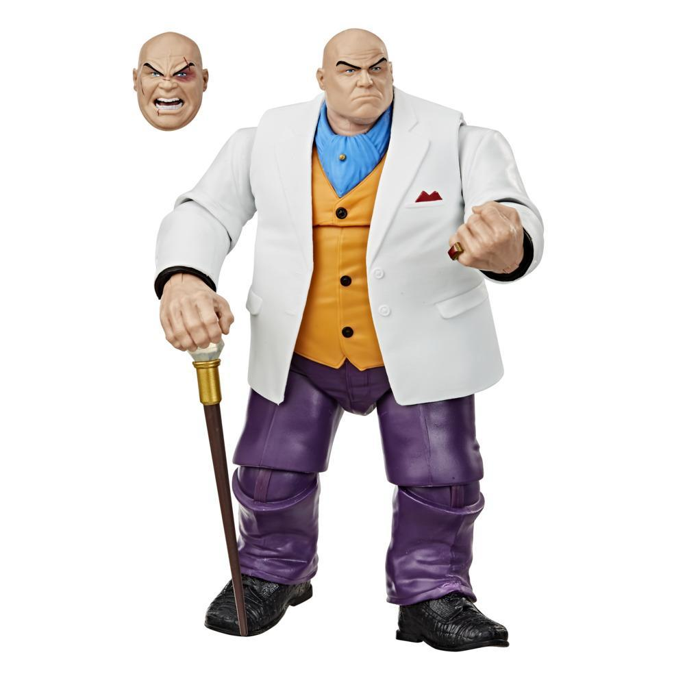 Hasbro Marvel Legends Series 6-inch Collectible Marvel's Kingpin Action Figure Toy Vintage Collection