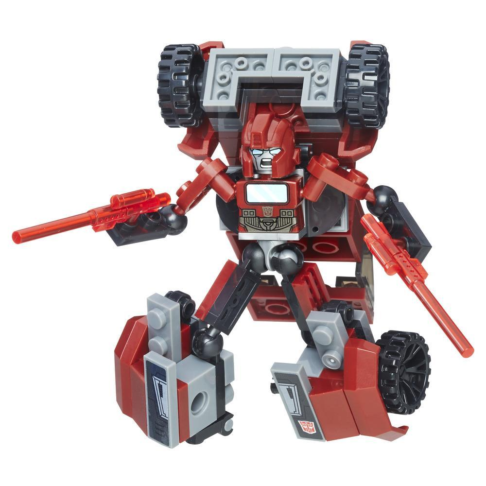 Transformers Toys KRE-O Kreon Battle Changers Ironhide Buildable Figure with 2 Modes - Adults and Kids, Ages 6 and Up