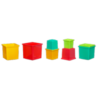 PLAYSKOOL PLAY FAVORITES Stack & Nest Cubes