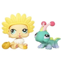LITTLEST PET SHOP (Iguana and Cat)