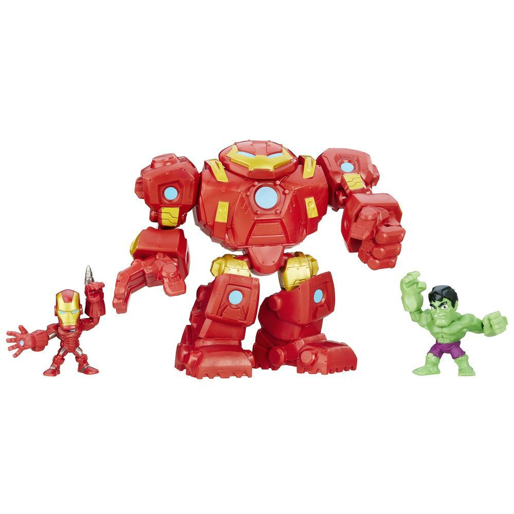 Marvel Super Hero Mashers Hulkbuster Fury Force Figure Set