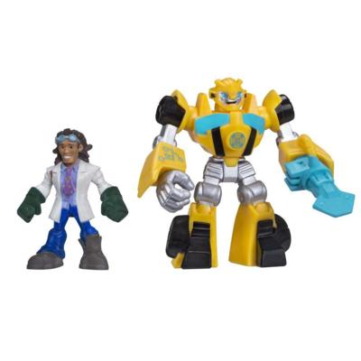 Playskool Heroes Transformers Rescue Bots Bumblebee and Doc Greene Figure Pack
