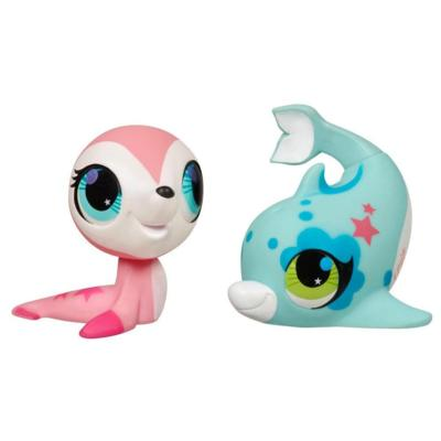LITTLEST PET SHOP TOTALLY TALENTED Seal and Dolphin