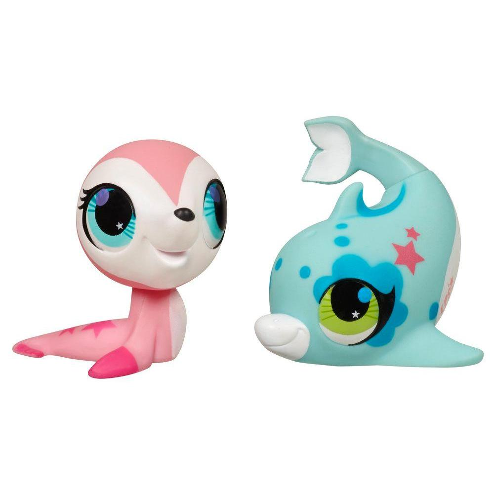 LITTLEST PET SHOP TOTALLY TALENTED Seal And Dolphin For Ages 4 YEARS