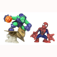 Marvel Super Hero Squad – Green Goblin and Spider-Man