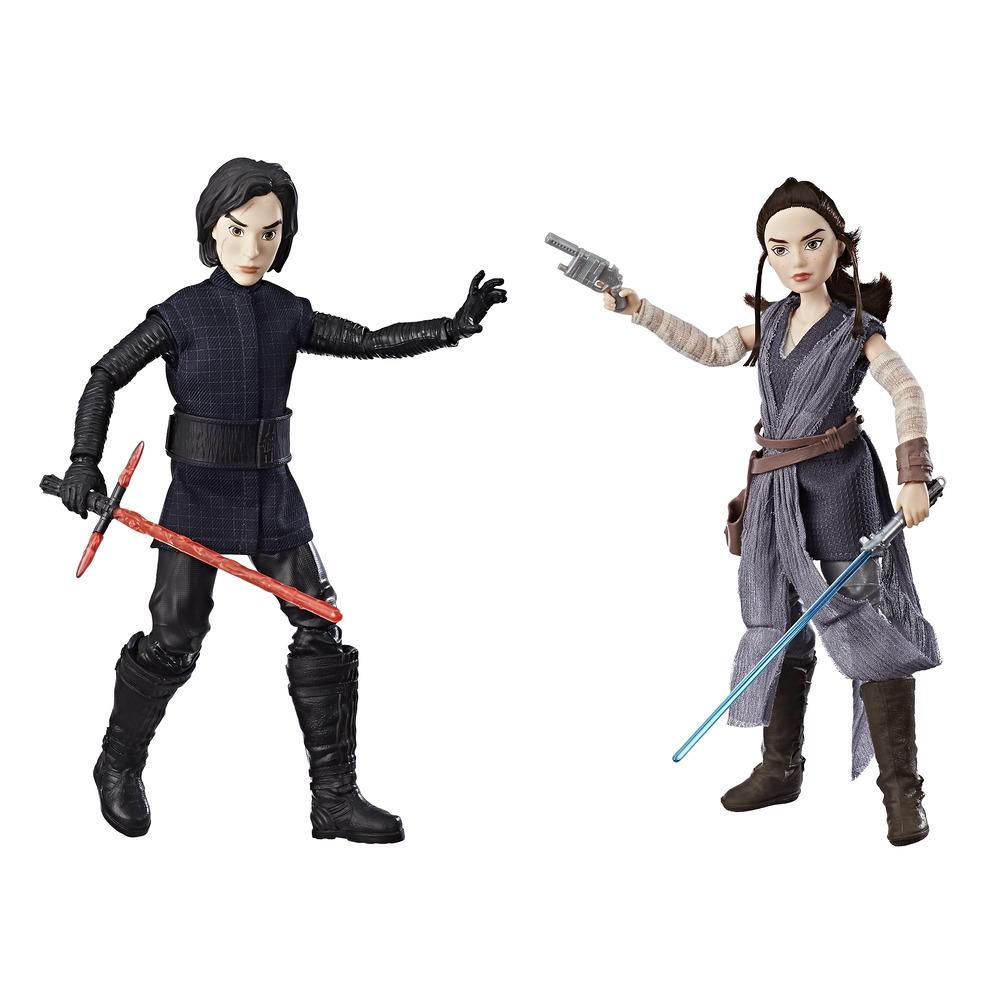 Star Wars Forces of Destiny Rey of Jakku and Kylo Ren Figure 2-Pack