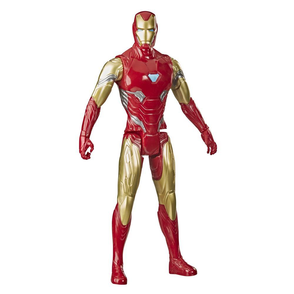Marvel Avengers Titan Hero Series Collectible 12-Inch Iron Man Action Figure, Toy For Ages 4 and Up