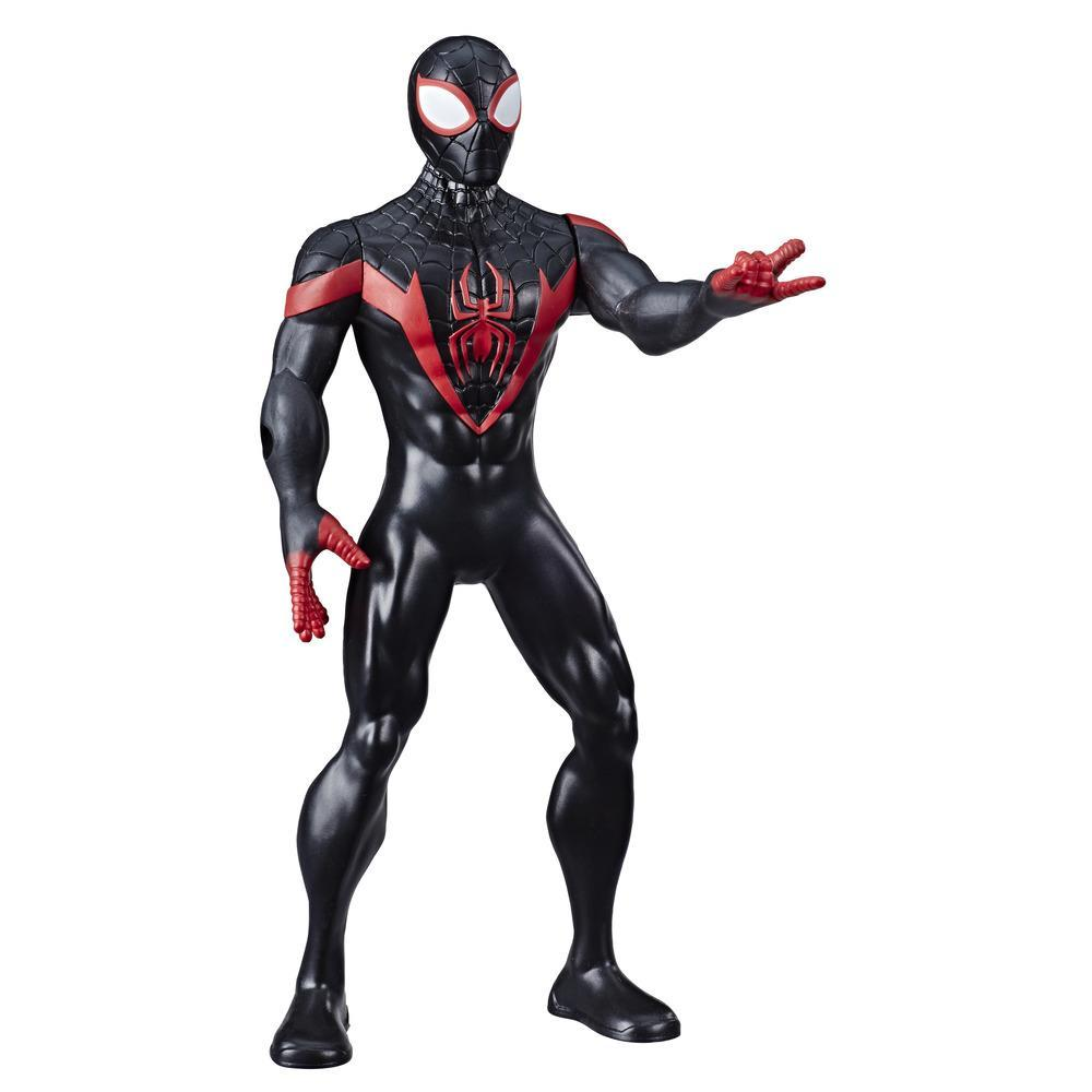 Marvel Avengers Miles Morales Action Figure, 9.5-Inch Scale Action Figure Toy, Comics-Inspired Design, For Kids Ages 4 And Up