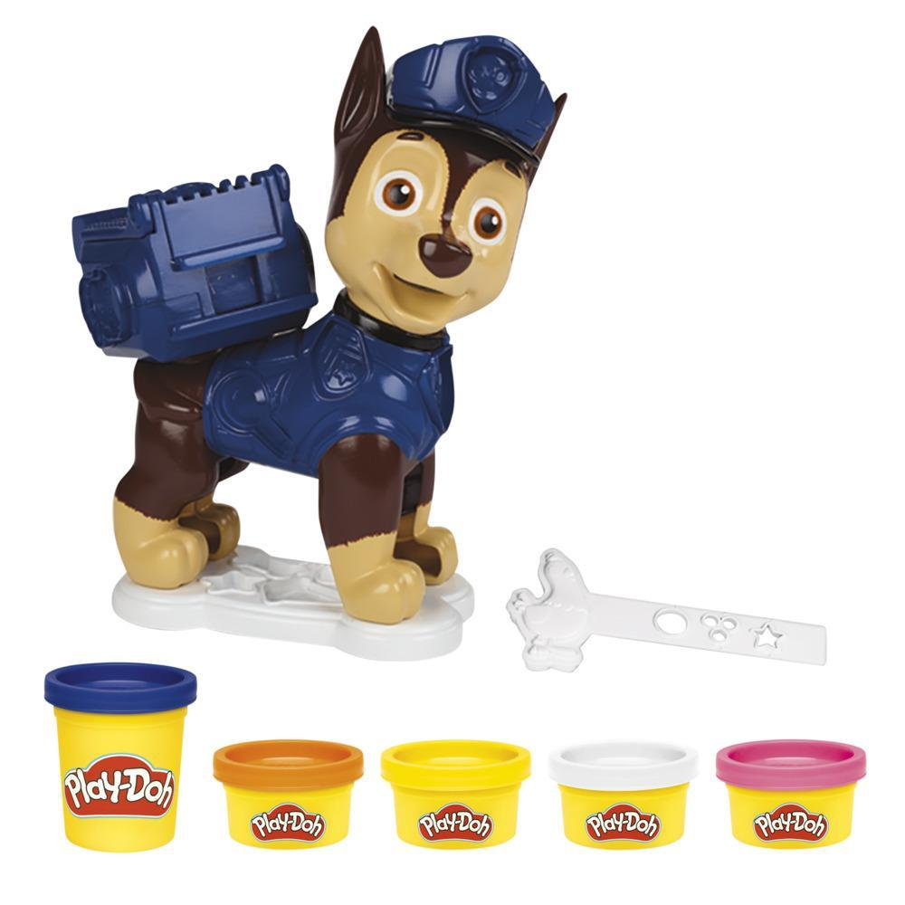 Play-Doh PAW Patrol Rescue Ready Chase Toy for Kids 3 Years and Up with 5 Cans