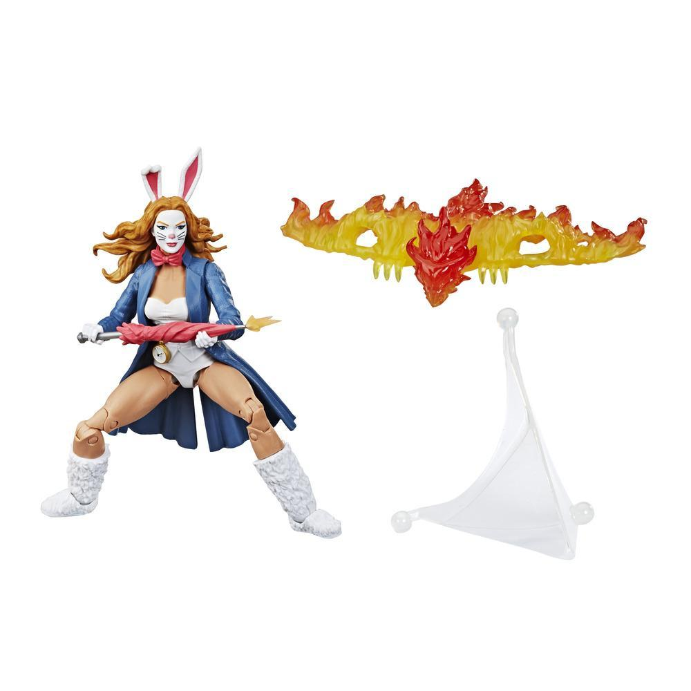 Hasbro Marvel Legends Series 6-inch Collectible Action Figure Marvel's White Rabbit Toy With Build-A-Figure Pieces